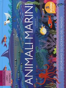Voluntariadobaleares2014.es Animali marini. Ediz. a colori Image
