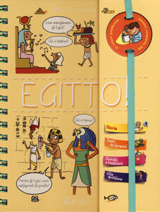 Egitto! Piccoli curiosi. Ediz. a spirale - Pascal Prévot - copertina