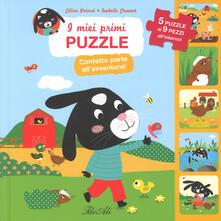 Fondazionesergioperlamusica.it Confetto parte all'avventura! I miei primi puzzle. Ediz. a colori Image