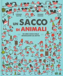 Parcoarenas.it Un sacco di animali. Un libro-gioco e mille informazioni col botto! Ediz. a colori Image