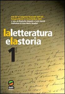 La letteratura e la storia