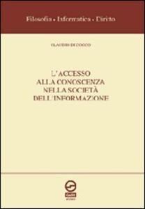 L' accesso alla conoscenza nella società dell'informazione