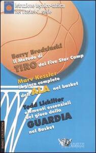 Elementi essenziali del gioco della guardia nel basket. DVD. Con libro - Tod Lickliter - copertina