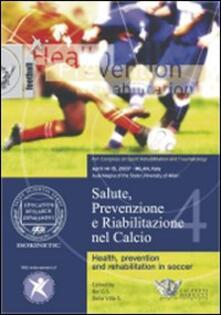 Aboutschuster.de Salute, prevenzione e riabilitazione nel calcio. Con DVD Image