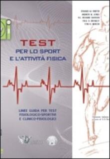 Recuperandoiltempo.it Test per lo sport e l'attività fisica. Linee guida per test fisiologico-sportivi e clinico-fisiologici Image