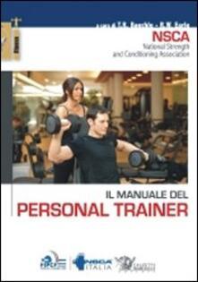 Il manuale del personal trainer - copertina