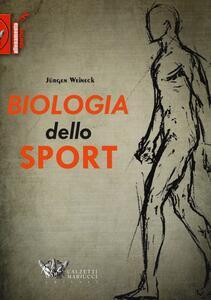 Biologia dello sport - Jürgen Weineck - copertina