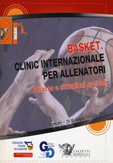 Voluntariadobaleares2014.es Basket. Clinic internazionale per allenatori. Attacco e situazioni speciali (Rimini, 29 giugno-1° luglio 2012). DVD. Con libro Image