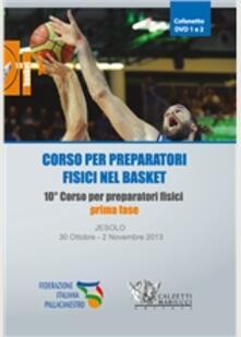 Camfeed.it Corso per preparatori fisici nel basket. 4 DVD. Con libro Image