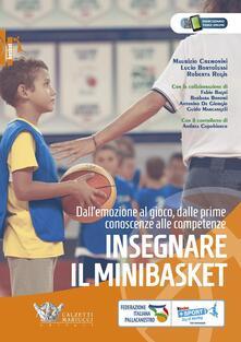 Ristorantezintonio.it Insegnare il minibasket. Dall'emozione al gioco, dalle prime conoscenze alla competenze Image