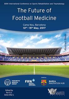 The future of football medicine - copertina