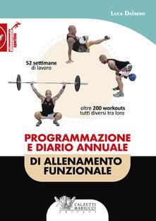 Programmazione e diario annuale di allenamento funzionale - Luca Dalseno - copertina