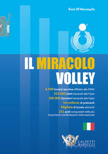 Il miracolo volley - Enzo D'Arcangelo - copertina