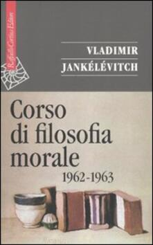 Winniearcher.com Corso di filosofia morale (1962-1963) Image