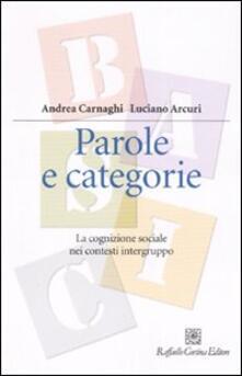 Antondemarirreguera.es Parole e categorie. La cognizione sociale nei contesti intergruppo Image