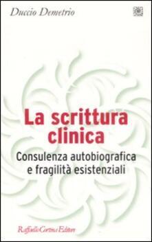 Librisulladiversita.it La scrittura clinica. Consulenza autobiografica e fragilità esistenziali Image