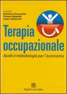 Terapia occupazionale. Ausili e metodologie per l'autonomia - copertina