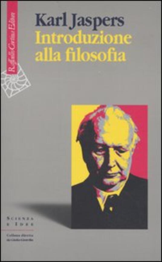 Introduzione alla filosofia - Karl Jaspers - copertina