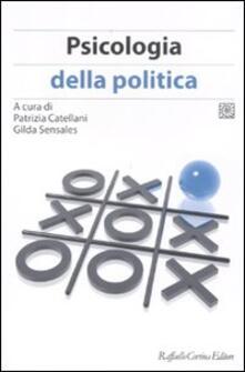 Psicologia della politica - copertina