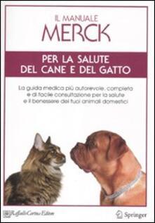 Il manuale Merck per la salute del cane e del gatto - copertina