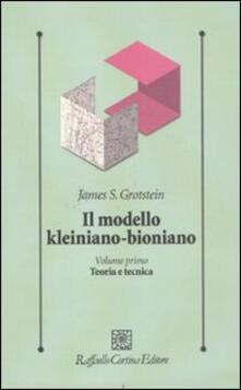 Antondemarirreguera.es Il modello kleiniano-bioniano. Vol. 1: Teoria e tecnica. Image