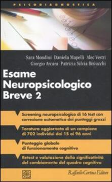 Esame neuropsicologico breve 2. Una batteria di test per lo screening neuropsicologico - copertina