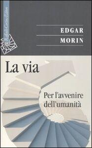 Foto Cover di La via. Per l'avvenire dell'umanità, Libro di Edgar Morin, edito da Cortina Raffaello