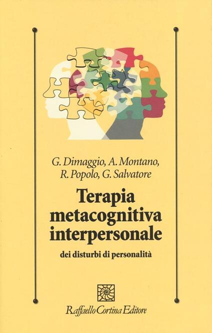 Terapia metacognitiva interpersonale dei disturbi di personalità - copertina