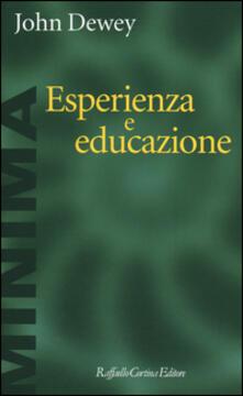 Esperienza e educazione - John Dewey - copertina