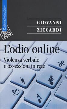 L odio online. Violenza verbale e ossessioni in rete.pdf