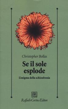 Se il sole esplode. L'enigma della schizofrenia - Christopher Bollas - copertina