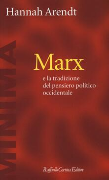 Lpgcsostenible.es Marx e la tradizione del pensiero politico occidentale Image