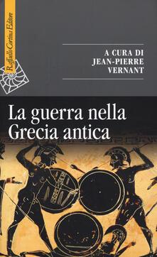 La guerra nella Grecia antica - copertina