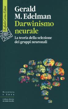 Cocktaillab.it Darwinismo neurale. La teoria della selezione dei gruppi neuronali Image