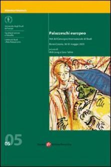 Palazzeschi europeo. Atti del Convegno internazionale di studi (Bonn-Colonia) - copertina