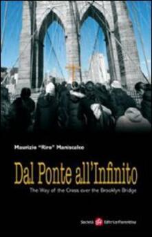 Dal ponte all'infinito - Maurizio Riro Maniscalco - copertina