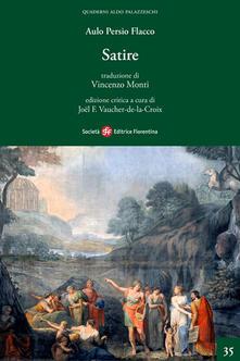 Le satire - A. Flacco Persio - copertina