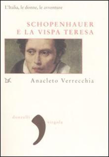 Radiospeed.it Schopenhauer e la Vispa Teresa. L'Italia, le donne, le avventure Image