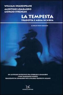 Promoartpalermo.it La tempesta. Tradotta e messa in scena. Con DVD Image