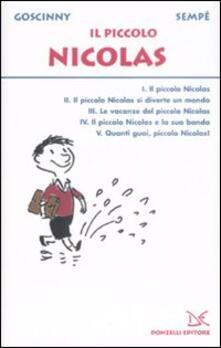 Il piccolo Nicolas - René Goscinny,Jean-Jacques Sempé - copertina