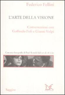 L' arte della visione - Federico Fellini - copertina