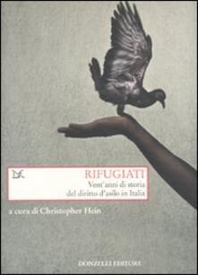 Rifugiati. Vent'anni di storia del diritto d'asilo in Italia - copertina