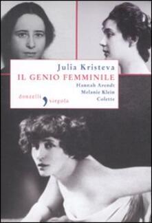 Radiospeed.it Il genio femminile: Hannah Arendt-Melanie Klein-Colette Image