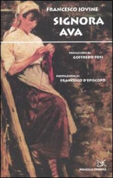 Signora Ava - Francesco Jovine - copertina