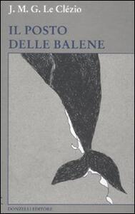 Il posto delle balene - Jean-Marie Le Clézio - copertina