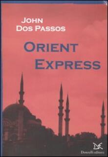 Orient Express - John Dos Passos - copertina