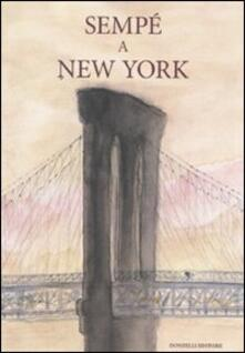 Sempé a New York - copertina