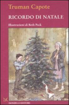 Ricordo di Natale - Truman Capote - copertina