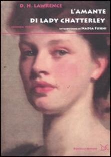 L' amante di lady Chatterley - David Herbert Lawrence - copertina