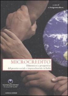Nordestcaffeisola.it Microcredito. Dimensioni e prospettive del prestito sociale e imprenditoriale in Italia Image
